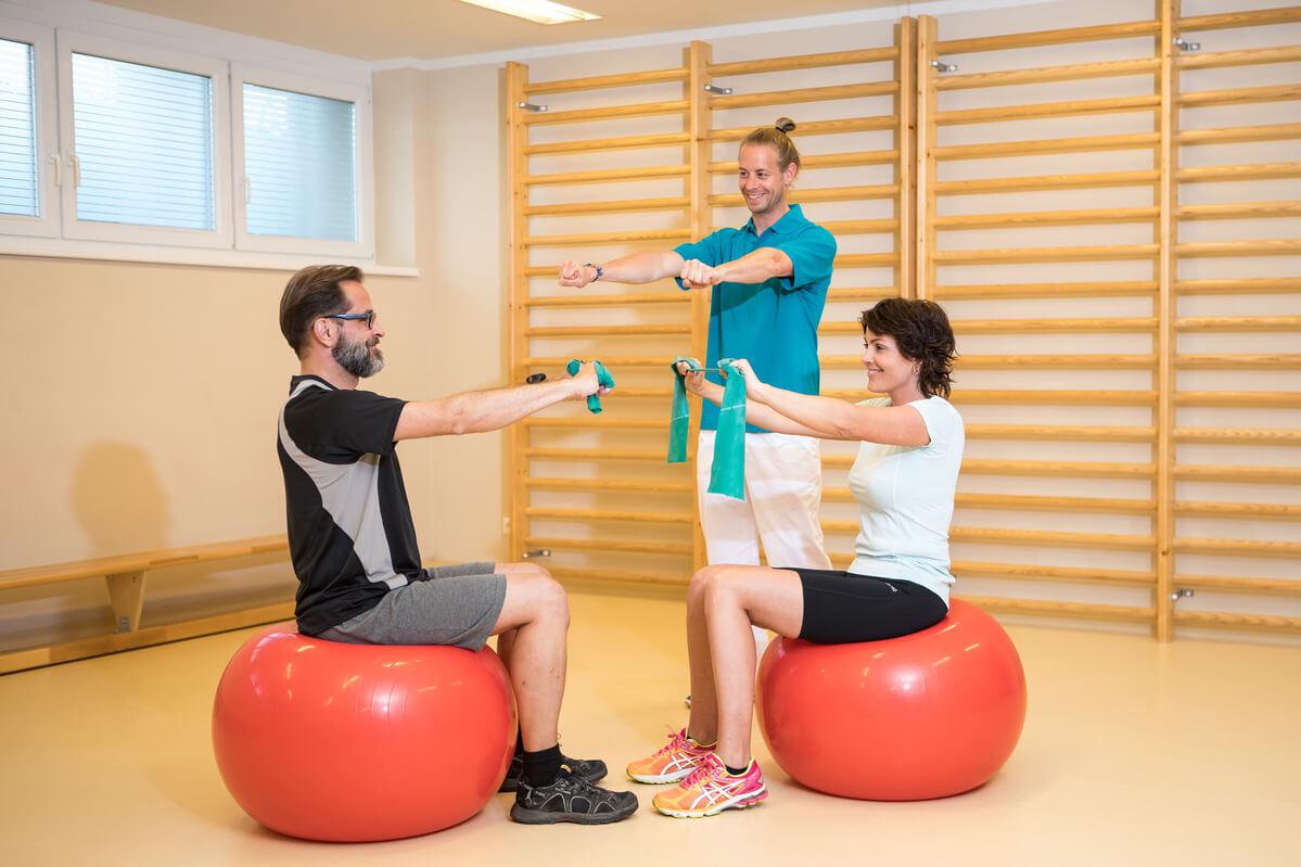 Physikalisches Institut Kittsee Therapie Ball