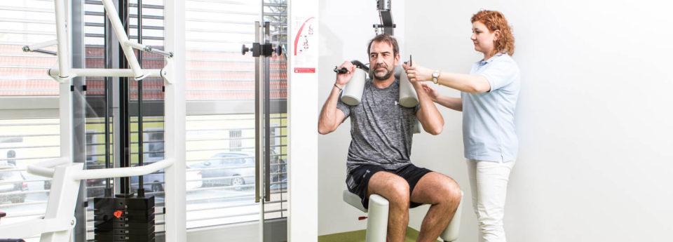 Muskelaufbau Therapie
